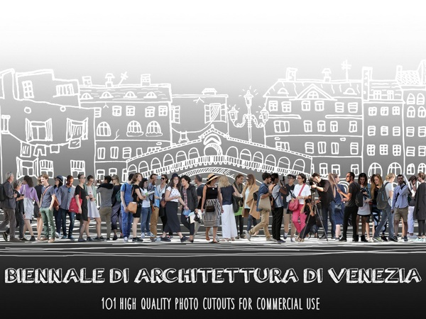 BIENNALE DI ARCHITTETURA DI VENEZIA - 101 Photo Cutouts