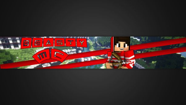 Minecraft Advanced channel banner