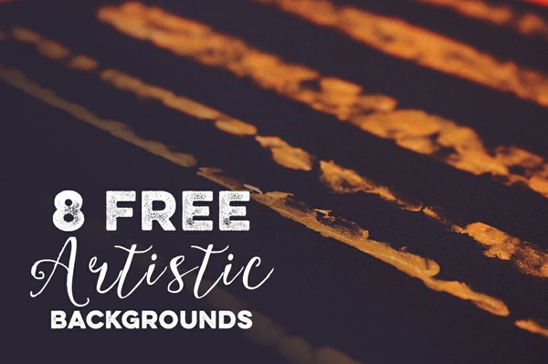 8 Free Artistic & Abstract Backgrounds