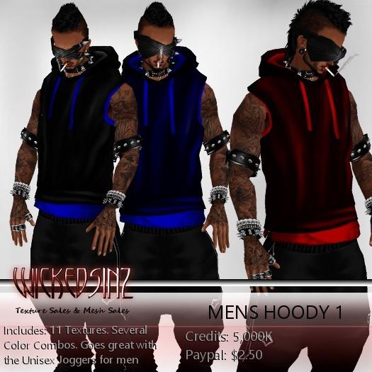 Mens Hoody 1