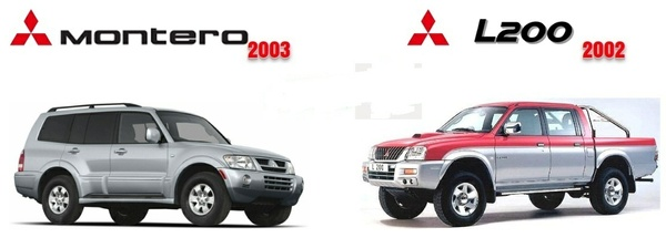 Mitsubishi Montero & L200 2002-2003 Factory Service Manual