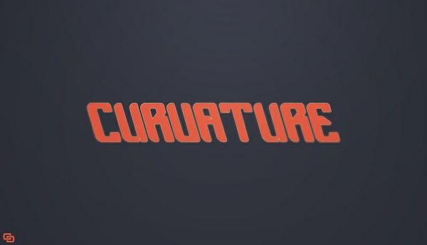 Curvature Font