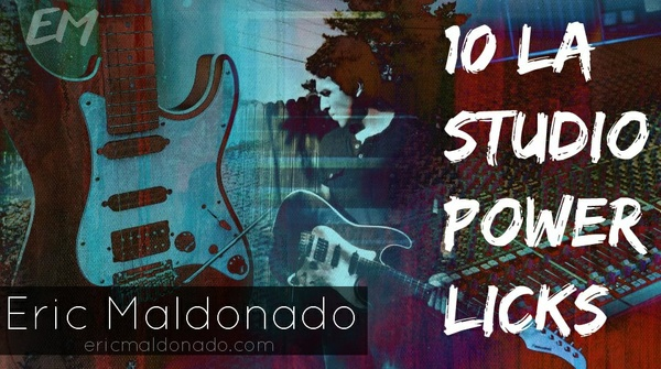 10 LA Studio Power Licks