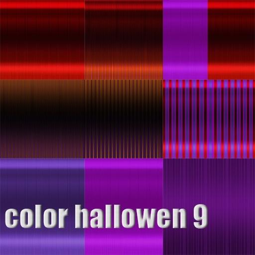 new hair Hallowen 9 color 1.50 USD