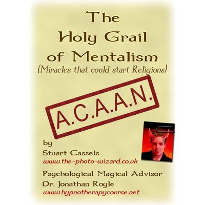 THE HOLY GRAIL OF MENTALISM - ACAAN - THE BERGLAS EFFECT