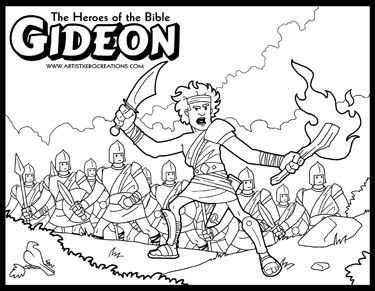 The Heroes of the Bible Coloring Pages  ArtistXeroCreations