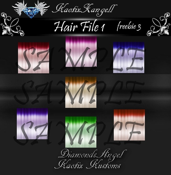 Hair File 1 -freebie 3