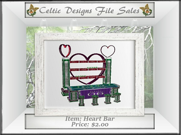 CD Heart Bar
