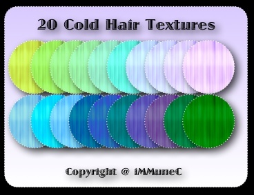 20 Cold Hair Textures With Resell Rights
