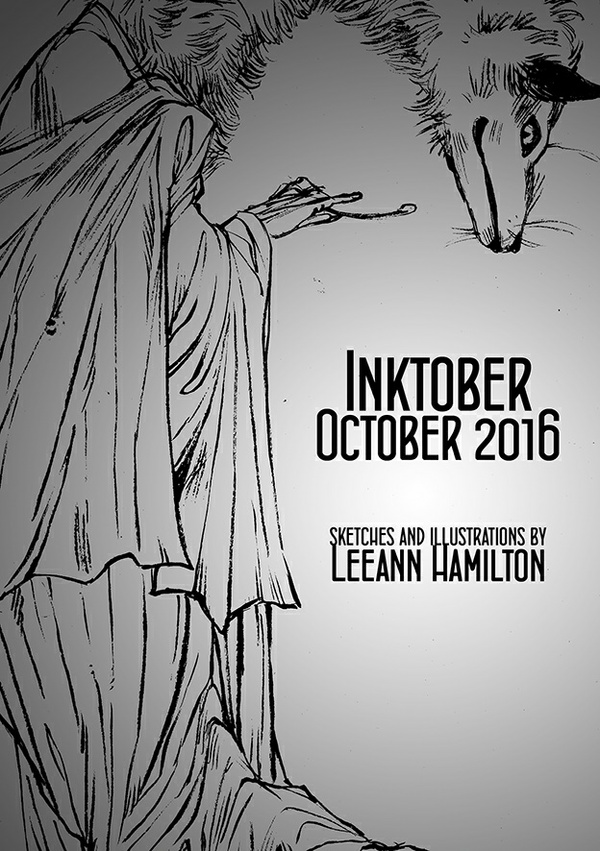 Inktober 2016 Sketchbook
