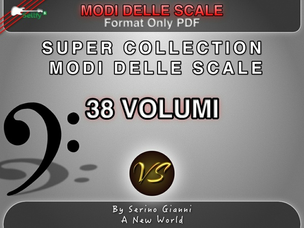 SUPER COLLECTION (ONLY PDF FORMAT) MODI DELLE SCALE (LEGGERE INFO)