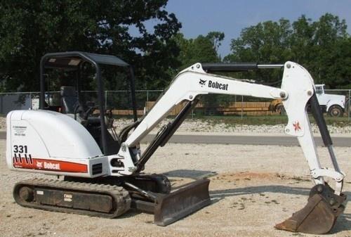 BOBCAT 331, 331E, 334 EXCAVATOR SERVICE REPAIR MANUAL (S/N: 232511001 & Above, D Series...)