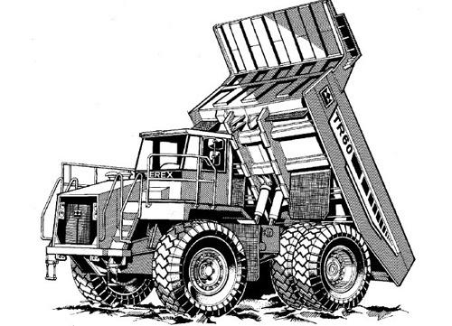 Terex TR60 Off-Highway Truck Service Repair Manual