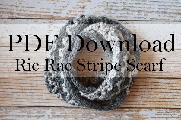 Ric Rac Scarf PDF Download