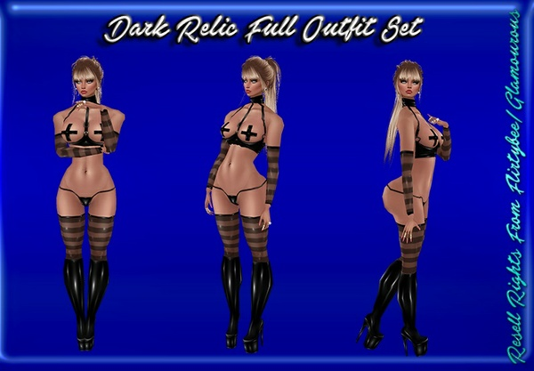 Dark Relic Full Outfit Set Catty Only!!!