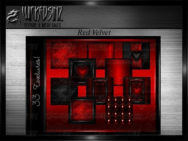 Valentine Red Velvet - $7.50 - 33 Textures