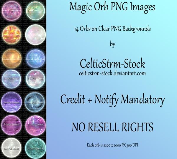 Magic Spheres PNG Pack