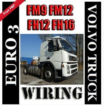 EURO 3 FM9 FM12 FH12 FH16 VOLVO TRUCK WIRING ELECTRIC DIAGRAM SERVICE MANUAL