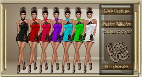 Millie Dress 55 CATALOG ONLY