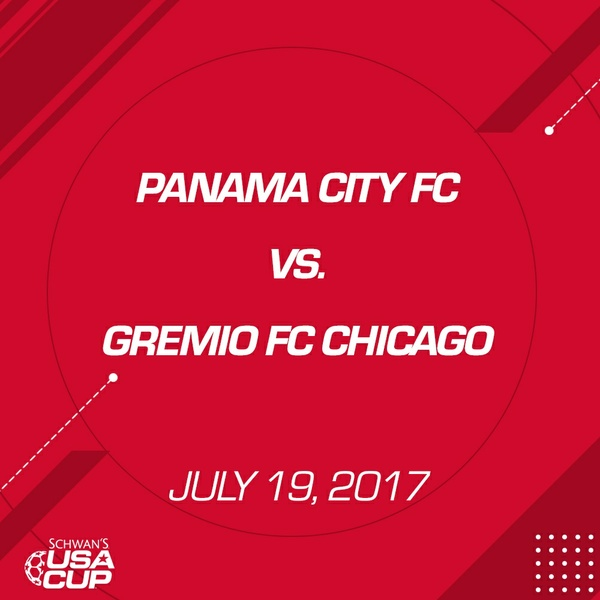 Boys U17 Gold - July 19, 2017 - Panama City FC vs Gremio FC Chicago