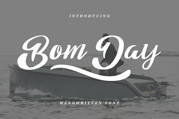 Bom Day Handwritten Font
