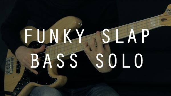 Funky Slap Bass Solo