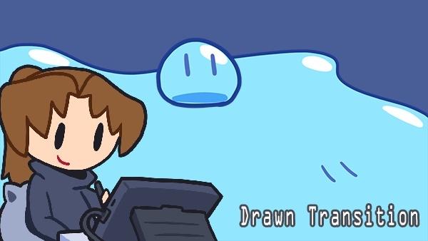 Drawn Transition - Blob
