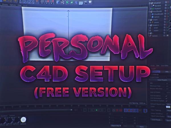Free C4D Setup