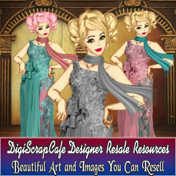 Dolly Dress Up Template