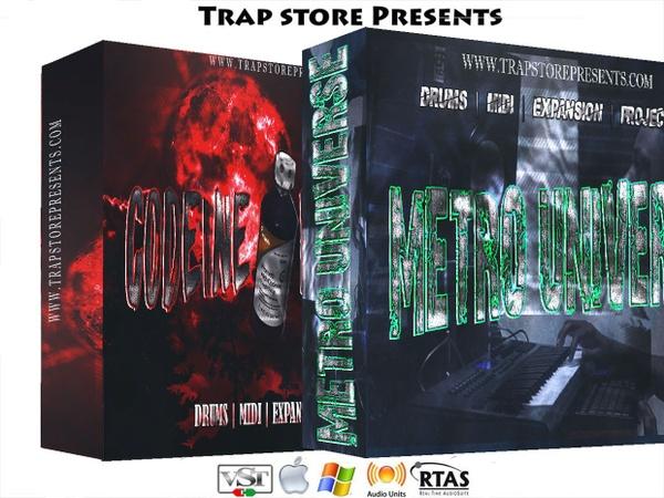 Trap Store Presents - Codeine Withdraw & Metro Universe
