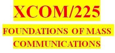 XCOM 225 Week 7 Mass Media Messages and Effects Presentation