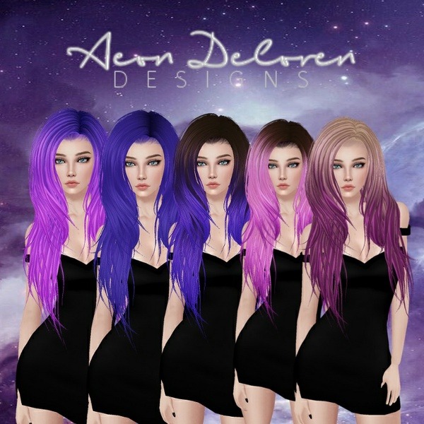 IMVU Hair Pack 2