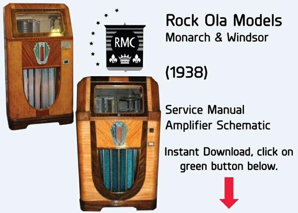 Rock Ola Monarch & Windsor (1938 Models)