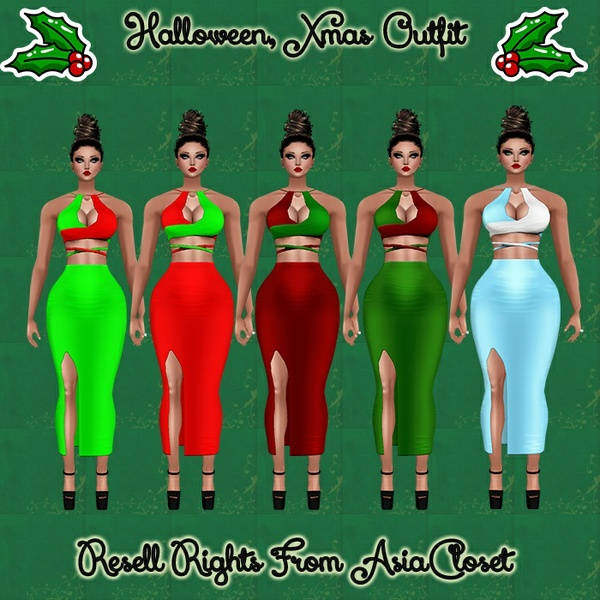 Hopeless Halloween, Xmas Outfit Catty Only!!!