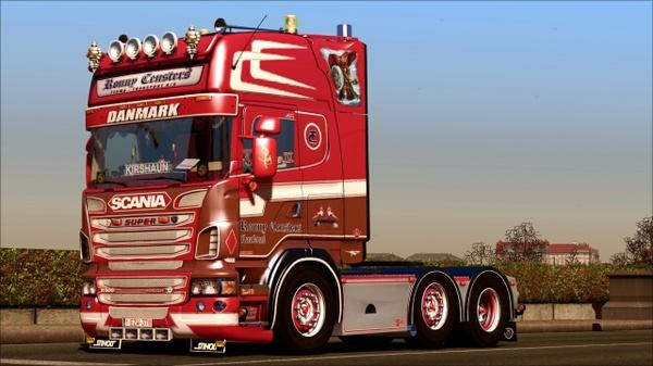 Scania Ronny Ceusters R500 V8