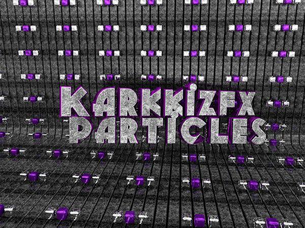 KarkkizFx WhiteBlue Particles