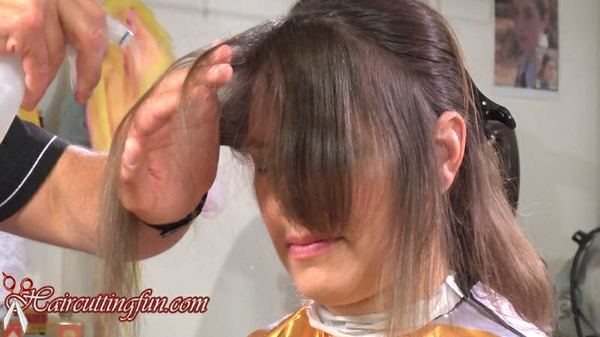 Kat Kempes Crop Haircut - VOD Digital Video on Demand