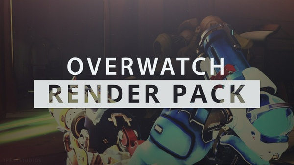 Free Version: Overwatch 5 Render Pack - Includes Editable Thumbnail