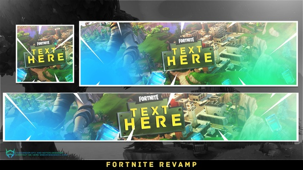 FORTNITE REVAMP TEXT AND COLOR AND BACKGROUND CAN BE CHANGE