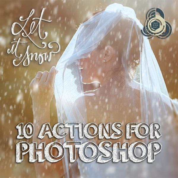 Let it Snow - 10 Azioni per far Nevicare con Photoshop