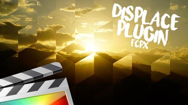 Displace Title Plugin - Final Cut Pro X