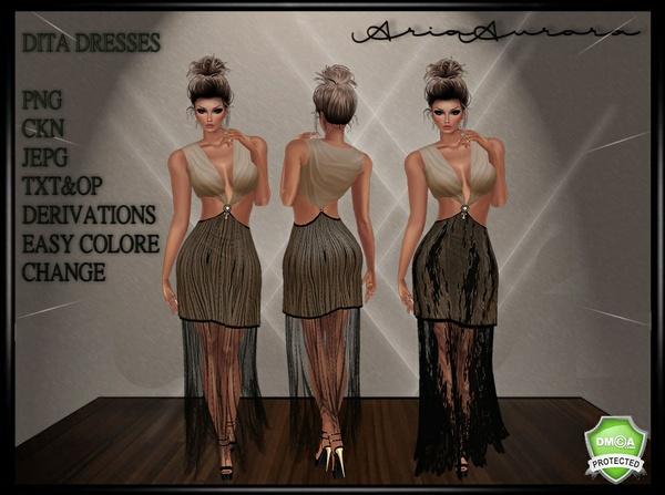 DITA DRESSES,NO RESELL!!