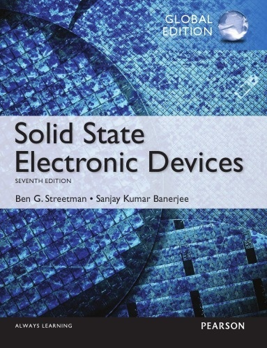 Solid State Electronic Devices 7th edition  Global Edition  ( PDF, Instant download )