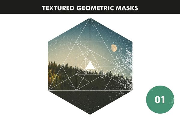 Textured Geometric Masks