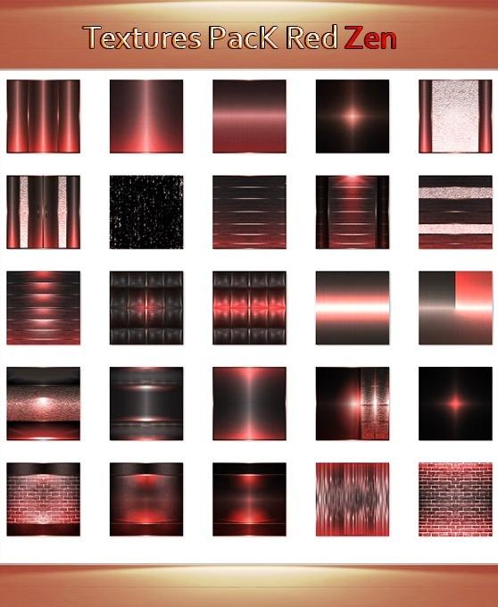 25_Textures RedZen