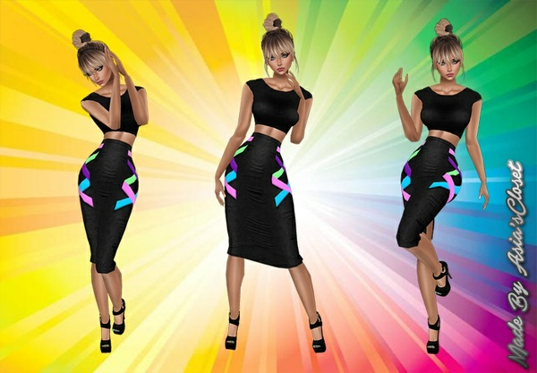 Coloric Dress Catty Only!!!!