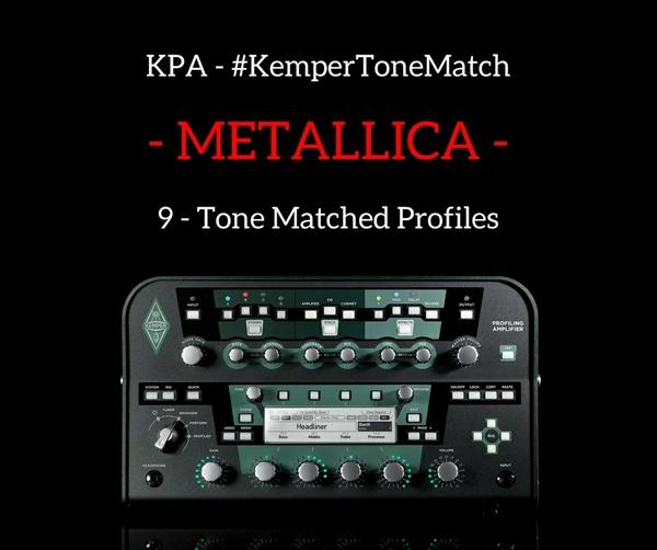 Kemper - Metallica Profiles (KPA)