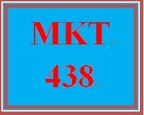 MKT 438 Week 5 Managing a Crisis Simulation