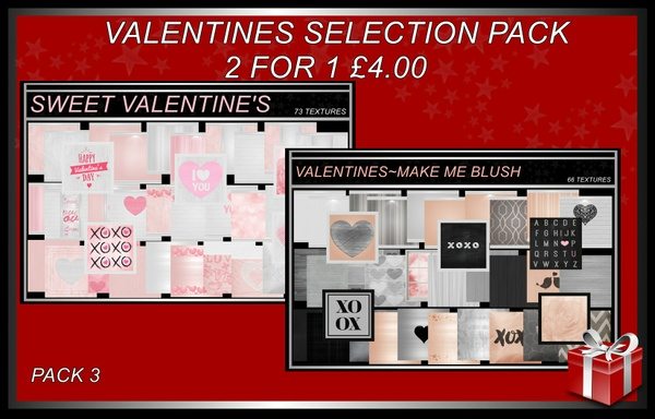 VALENTINES SELECTION PACK 3