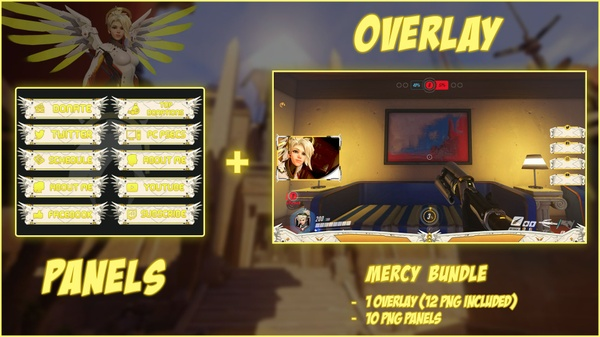 MERCY BUNDLE - PANELS + OVERLAY